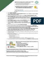 Cronograma y Requisitos 2019 - i