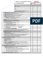BP Checklist Revised