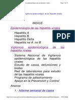 Hepatitis Viral. Manual de Vigilancia Epidemiologica