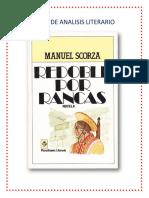 Plan de Analisis Literario Por Rancas