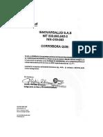 Certificado La b