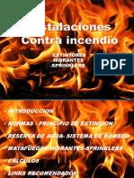Presentacion Instalaciones Contra Incendio
