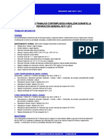 Resumen HDT-1 Tambores Torres y Reactores