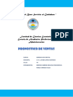 PRONOSTICO DE VENTAS - GERENCIA DE VENTAS.docx