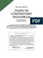 2011 - Michel Baron - Cours de contrepoint rigoureux.pdf