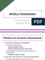 Modelo Ricardiano Granado 2016