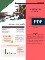 Infográfico - Despesas de Pessoal