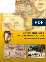History Proposed Mock Examination, 2019 | East Africa