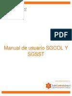 Manual de Usuario SGCOL Y SGSST