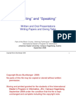WorkingTechniquesSpeakingWriting.ppt