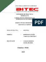 Informe de Practicas Preprofesionales Modulo II