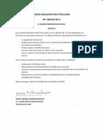 Certificado requisitos