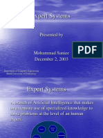 1. ExpertSystems