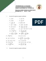 Guia Integral Indefinida- Matematicas III UES