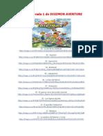Todas Las Temporadas de Digimon