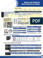 Racks and Cabinets Quick Reference Guide - En - NA - 0618
