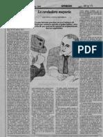 Novoa Monreal Diario La Epoca 1990 La Verdadera Mayoria