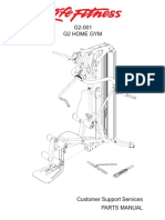 PM GSR G2-001 Home Gym English