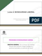 Bioseguridad Laboral