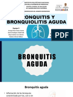 Bronquitis y Bronquiolitis