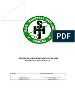 Protocolo ronda hospitalaria
