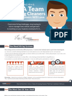 How to Find Hire and Grow a Team of Amazing Cleaners