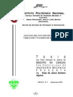 Análisis del estado de esfuerzos, vibración y pandeo de membranas.pdf
