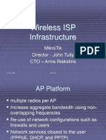 Wireless Isp Infrastructure