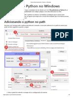 Instalando o Python no Windows