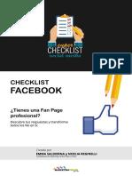 Checklist de Facebook