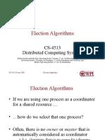 Week 4, Election Algorithms