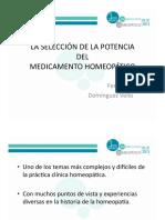 Eleccion de la Potencia del Medicamento Homeopatico.pdf