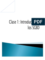 Introduccion a los SGBD