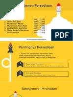 PPT MO Klp 3 ~ Manajemen Persediaan
