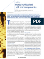Moving Towards Individualized Medicine With Pharmacogenomics