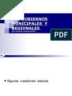 Ppt Cal Gobierno Local y Regional Una Mirada Constitucional