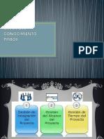 Áreas Del Conocimiento Pm Book