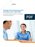 MOM Guide to Employment Act Changes 1 April 2019