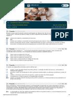 História Do Direito Brasileiro - Simulado Av 1