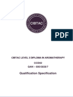 Sy_CCDO2 L3 Diploma in Aromatherapy Specificataion