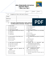 145696221 Evaluacion de Lenguaje Lectura Complementaria Eva y Su Tan