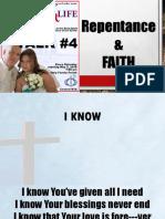 Talk 4 - Repentance and Faith - Chris
