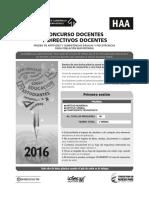 Concurso Docentes y Directivos Docentes