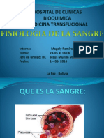 Fisiologia Sangre