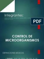 Metodos Fisicos de Control de Microorganismoa