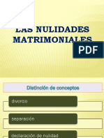 Las Nulidades Matrimoniales 1