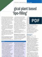 Plant Lipofilling