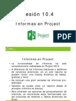 10_4 Informes en Project