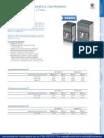Interruptores Termomagnéticos Caja Moldeada Tmax XT Formula y Tmaz GSE-18