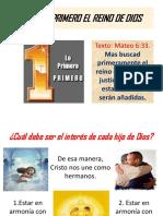 174buscad Primero El Reino de Dios